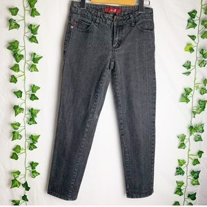 SEVEN7 Boyfriend Gray Denim Jeans